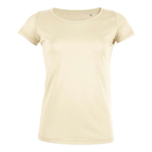 Dames tshirt medium fit 100 organic katoen digitransfer.be